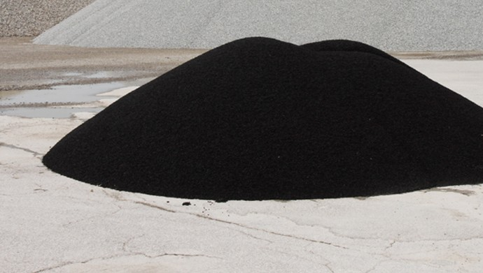 Mound of black things in Cleveland